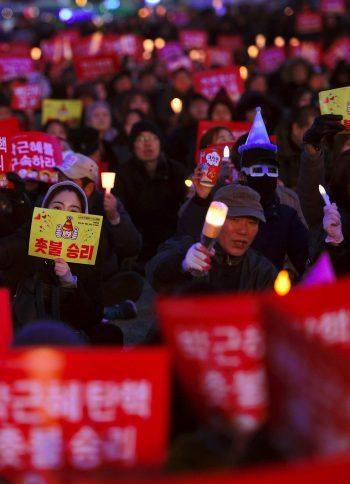 South Koreans want more for their country than the ousting of a president and her close associates. Mass protests forced President Park Geun-hye from office in March. Credit Jung Yeon-Je/Agence France-Presse — Getty Images