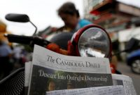Samrang Pring/Reuters. The final issue of The Cambodia Daily, Phnom Penh, Cambodia, September 4, 2017
