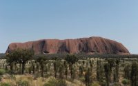Uluru, formerly known as Ayers Rock, has come to symbolize the struggle for Indigenous rights and the meaning of Australian identity. Credit Greg Wood/Agence France-Presse — Getty Images