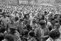 People gathered for a concert in Tompkins Square Park in 1967. Credit Meyer Liebowitz/The New York Times