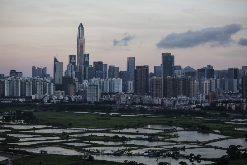 The skyline of Shenzhen, China, in 2017. Credit Justin Chin/Bloomberg, via Getty Images