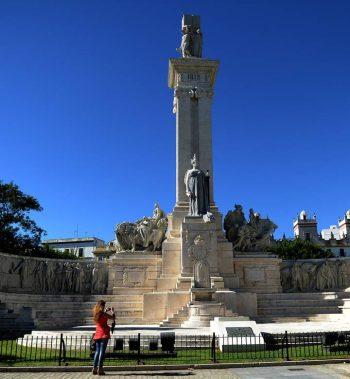 Monumento de las Cortes de Cádiz. CRISTINA QUICLER/AFP/Getty Images)