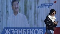 Sooronbay Jeenbekov won 54.3 per cent of the vote in Kyrgyzstan's presidential election. Photo: Getty Images.