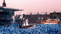 Ceremonia inaugural de los JJ OO de Barcelona, en 1992. Rafa Segui