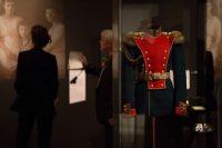 """Un uniforme ruso en exhibición en el Museo Alemán de Historia en Berlín el 17 de octubre de 2017, parte de la exhibición """"1917. Revolución. Rusia y Europa"""". Credit Omer Messinger/European Pressphoto Agency"""