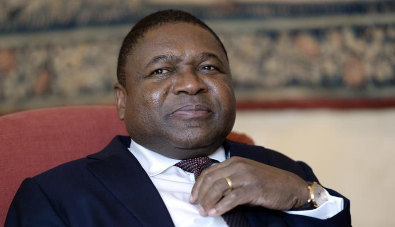 Mozambique President Filipe Nyusi. Photo: Getty Images.