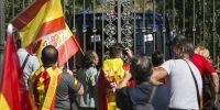 Manifestación en Barcelona por la unidad de España. MASSIMILIANO MINOCRI