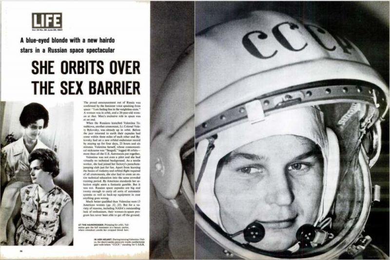 Tereshkova, una gaviota en el espacio
