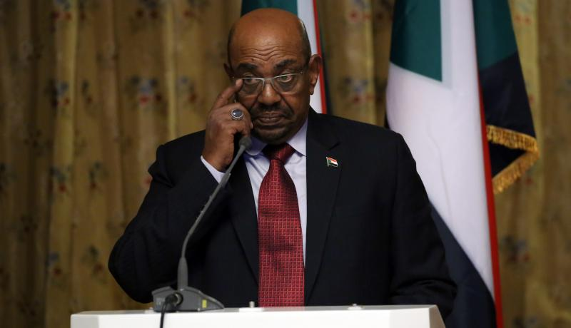 Sudan President Omar al-Bashir on a visit to Ethiopia in April. Photo: Getty Images.