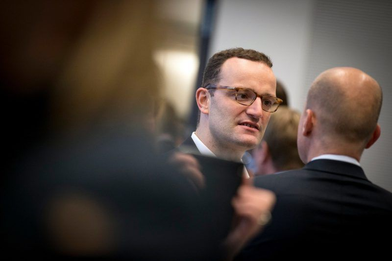 Jens Spahn at the Bundestag in Berlin last month. Having served in the Ministry of Finance, Mr. Spahn has a keen sense for Germany's economic, political and financial entanglement with the world. Credit Clemens Bilan/European Pressphoto Agency