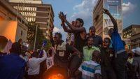 Celebration in Zimbabwe as Mugabe resigns