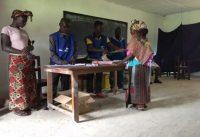 Voting takes place in Nimba County, Liberia, last month. (Photo: Agnieszka Paczynska)