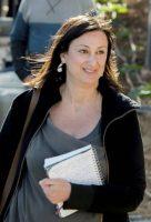 La periodista Daphne Caruana Galizia, asesinada el pasado 16 de octubre. Jon Borg (AP)