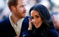 Britain's Prince Harry and his fiancee Meghan Markle arrive at an event in Nottingham, Britain, December 1, 2017. REUTERS/Adrian Dennis/Pool TPX IMAGES OF THE DAY - RC16D8E4AA90