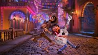 """La entrega más reciente de Pixar, """"Coco"""", es una celebración fastuosa del Día de Muertos. Dos de los personajes principales son Héctor (izquierda) y Miguel (derecha). Credit Pixar/Disney, vía Associated Press"""