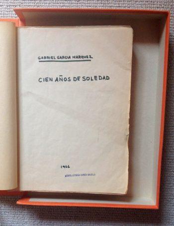 """El texto mecanografiado de """"Cien años de soledad"""" con algunas correcciones a un año de su publicación, en 1967. Credit Harry Ransom Center"""