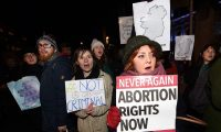'Women in Northern Ireland should not have to cross the Irish Sea to access medical care that is their right.' Photograph: Charles McQuillan/Getty Images