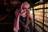 A 13-year-old Rohingya rape victim at a refugee camp in Bangladesh last month. Credit Wong Maye-E/Associated Press