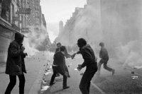 Le 6 mai 1968, rue Saint-Jacques à Paris. Photo AFP