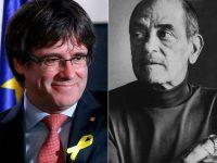 Carles Puigdemont y Luis Buñuel.