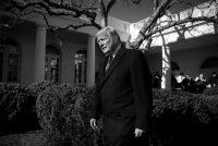 El presidente Trump en la Casa Blanca el viernes Credit Al Drago para The New York Times