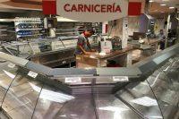 Empty meat counters in a supermarket in Caracas, Venezuela, on Jan. 9. (Marco Bello/Reuters)