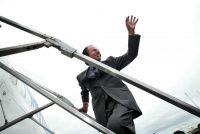 Carlos Menem, presidente de Argentina de 1989 a 1999, se postuló una tercera vez como candidato a la presidencia, en el 2003. En abril de 2003, mientras hacía campaña, visitó su provincia natal, La Rioja. Credit Carlos Barria/Reuters