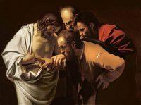 """""""La incredulidad de santo Tomás"""", 1602-03, de Caravaggio Credit Bridgeman Images"""