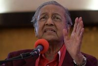 Mahathir Mohamad, 92, was the country's prime minister from 1981 to 2003. Credit Mohd Rasfan/Agence France-Presse — Getty Images