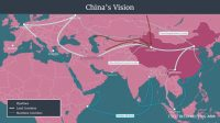 China's Belt and Road initiative encompasses scores of countries and billions of people. (CSIS Reconnecting Asia Project)