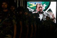 El presidente de Nicaragua, Daniel Ortega, en una ceremonia del ejército en Managua el 2 de septiembre de 2010 Credit Esteban Félix/Associated Press