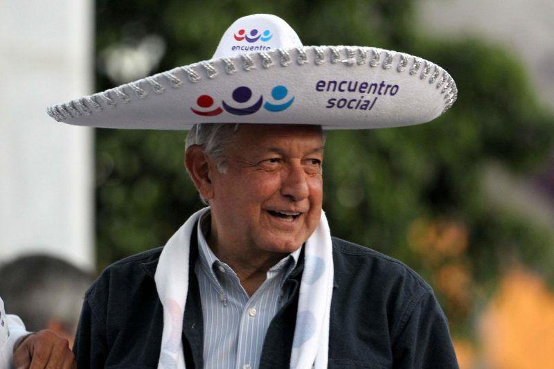 Andrés Manuel López Obrador durante un mitin en Guadalajara el 11 de febrero de 2018 Credit Ulises Ruiz/Agence France-Presse — Getty Images