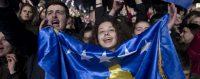 Célébration du dixième anniversaire de l'indépendance du Kosovo. Pristina, 17 février 2018. © Visar Kryeziu/AP Photo