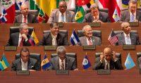 El expresidente de Estados Unidos Barack Obama atendió a la Cumbre de las Américas en 2015, convocada en Panama. Credit Stephen Crowley/The New York Times