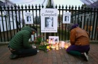 A vigil honoring Anna Campbell in her hometown, Lewes, East Sussex, England. Ms. Campbell died fighting with a Kurdish armed unit in Syria. Credit Gareth Fuller/Press Association Images, via Getty Images