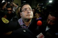 Javier Duarte, el exgobernador del estado mexicano de Veracruz, el 19 de abril de 2017 Credit Reuters