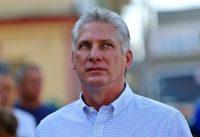 El presidente de Cuba, Miguel Díaz-Canel, en Santa Clara el 11 de marzo de 2018, cuando era vicepresidente Credit Alejandro Ernesto/Agence France-Presse — Getty Images