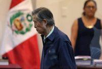 El expresidente de Perú Alberto Fujimori, durante un juicio en Callao el 15 de marzo de 2018 Credit Mariana Bazo/Reuters