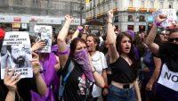 Protesta por la sentencia por violacion de La Manada. JAIME VILLANUEVA