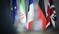 Preparations are made for European leaders to meet with Iranian representatives in Brussels on 15 May. Photo: Getty Images.