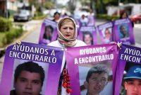 Una manifestación por el Día de las Madres en Xalapa, Veracruz, el 10 de mayo. (Yahir Ceballos/REUTERS)