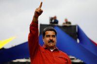 El presidente de Venezuela Nicolás Maduro en un evento de campaña de cara a las elecciones presidenciales el 20 de mayo Credit Carlos García Rawlins/Reuters