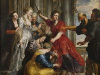 'Aquiles descubierto por Ulises', pintado por Van Dyck y Rubens