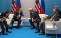 President Trump meeting with President Vladimir Putin of Russia at the G-20 meeting in Hamburg, Germany, in 2017.CreditStephen Crowley/The New York Times