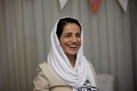 Iranian lawyer Nasrin Sotoudeh. (BEHROUZ MEHRI/AFP/Getty Images)