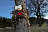 A memorial for a 19-year-old medical student who was raped and murdered in October 2016 in Breisgau, Germany, by an Afghan asylum seeker.CreditSean Gallup/Getty Images