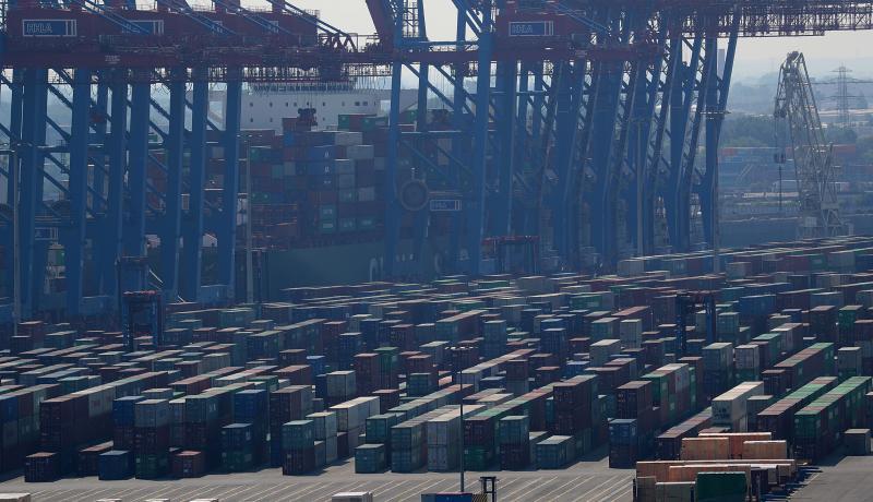 Port of Hamburg, Germany. Photo: Getty Images.