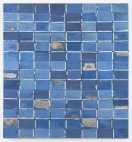 """""""Blue Skies Matter"""" (2016), lienzo de Samuel Levi Jones Credit Cortesía del artista y la Galerie Lelong & Co., Nueva York"""