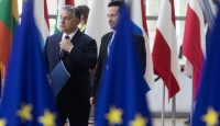 Viktor Orbán arrives for an EU summit on 28 June. Photo: Getty Images.