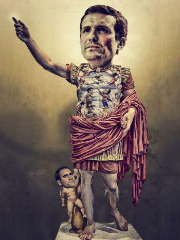 El ahijado de César reclama su mitad del mundo-1